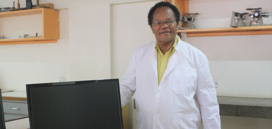 MR. NJUGUNA, ONE OF THE MEMBERS OF THE TECHNICAL STAFF